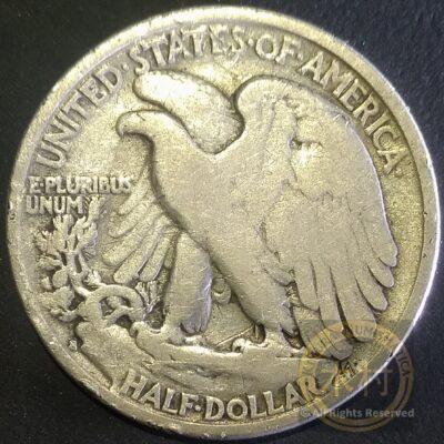 1/2 dólar Liberty