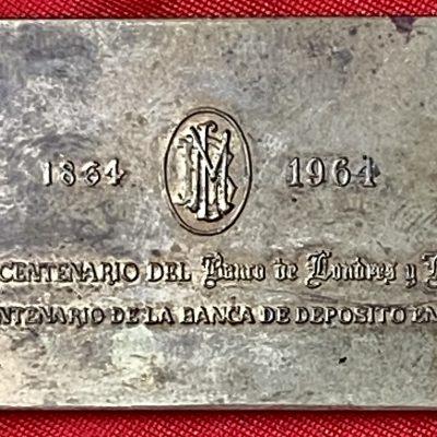 Mexico.Medalla.1964