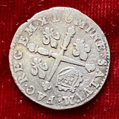 Francia.10 Soles/1/8Ecu.1704