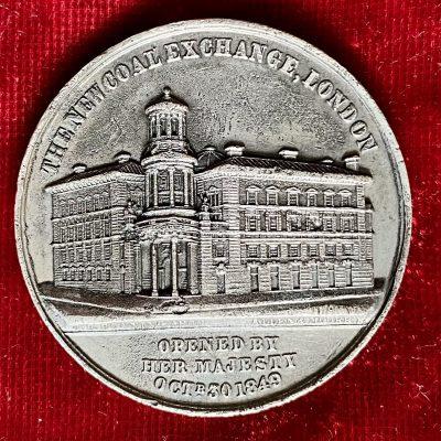 Gran Bretaña.Medalla.1849
