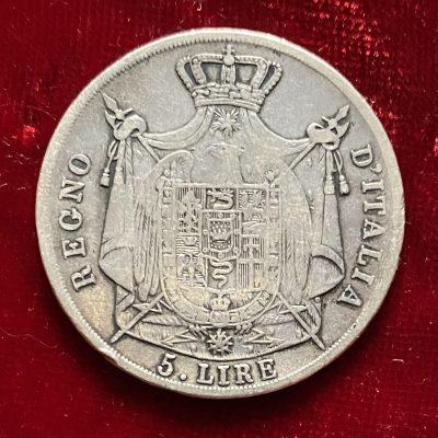 Italia.5Liras.1811