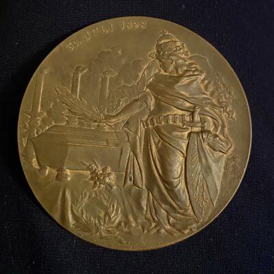 Alemania.1898.Medalla