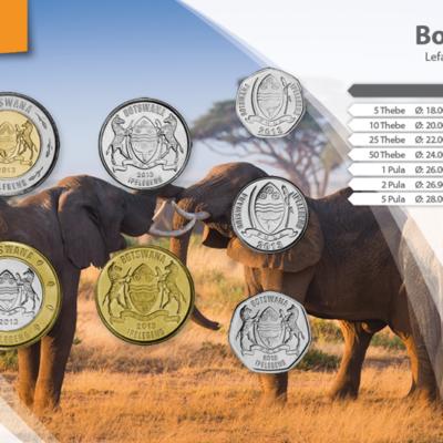 Set de Monedas de Botswana