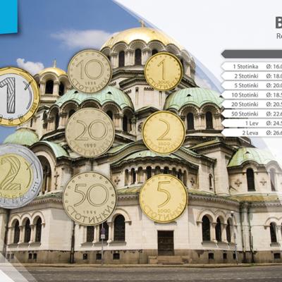 Set de Monedas de Bulgaria