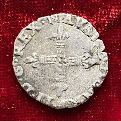 Navarra.1/4 Ecu.1587