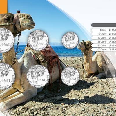 Set de Monedas de Eritrea