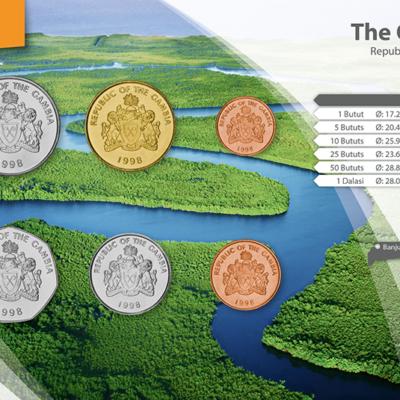 Set de Monedas de Gambia