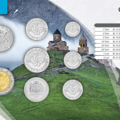 Set de Monedas de Georgia