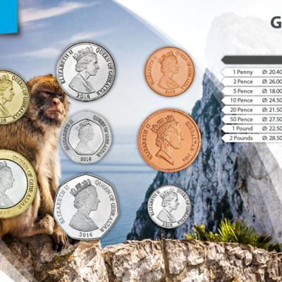 Set de Monedas de Gibraltar