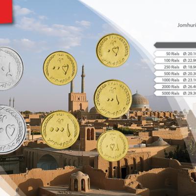 Set de Monedas de Irán