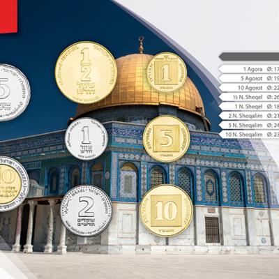 Set de Monedas de Israel