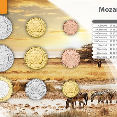 Set de Monedas de Mozambique