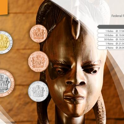 Set de Monedas de Nigeria
