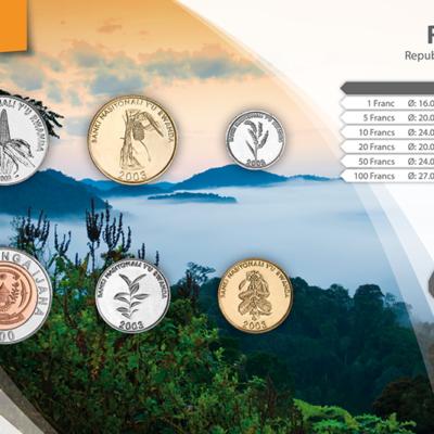 Set de Monedas de Ruanda