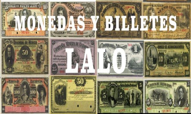 Monedas y billetes Lalo