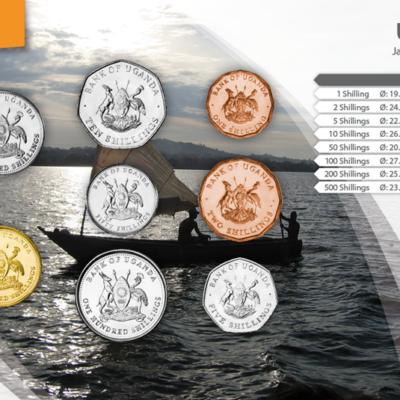 Set de Monedas de Uganda