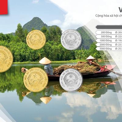 Set de Monedas de Vietnam