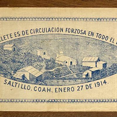 COAHUILA.1Peso.1914