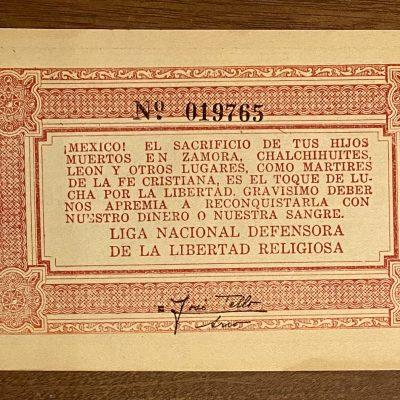 Jalisco.1Peso.cristero