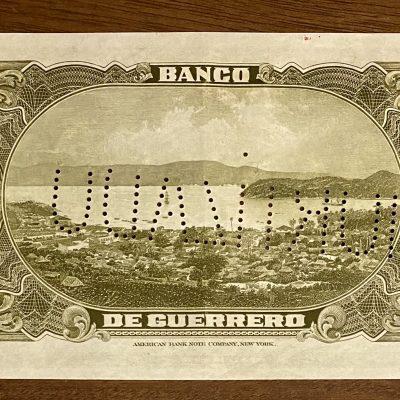 Guerrero.100Pesos.