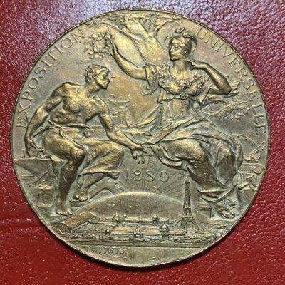 Medalla.Francia.1889