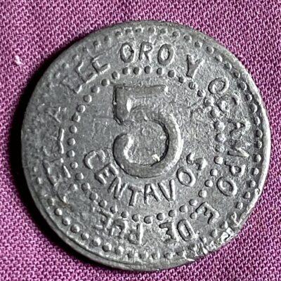 Puebla.5Cents.1915
