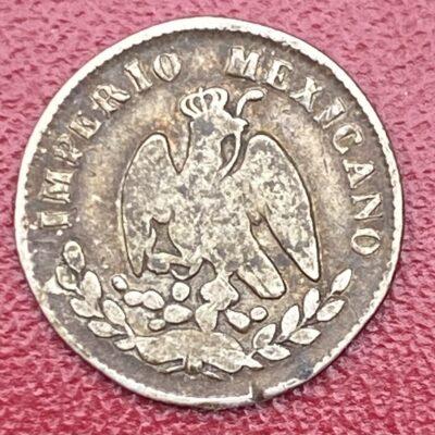 Mexico.10Cents.1864