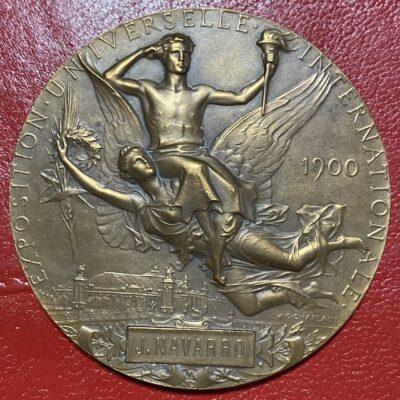 Medalla.Francia.1900