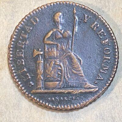 San Luis Potosí.1Centavo.1863
