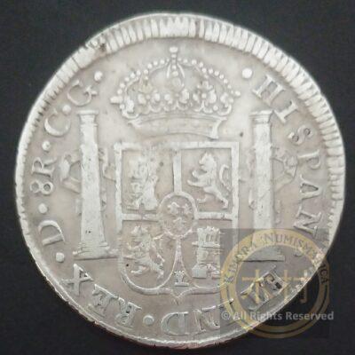 8 Reales 1821 Do